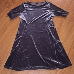 Lands End Women's Velvet Dress